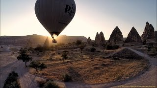 Hot air balloons of Cappadocia, Turkey (Filmed using GoPro Hero 3+ and Phantom 2 quadcopter)