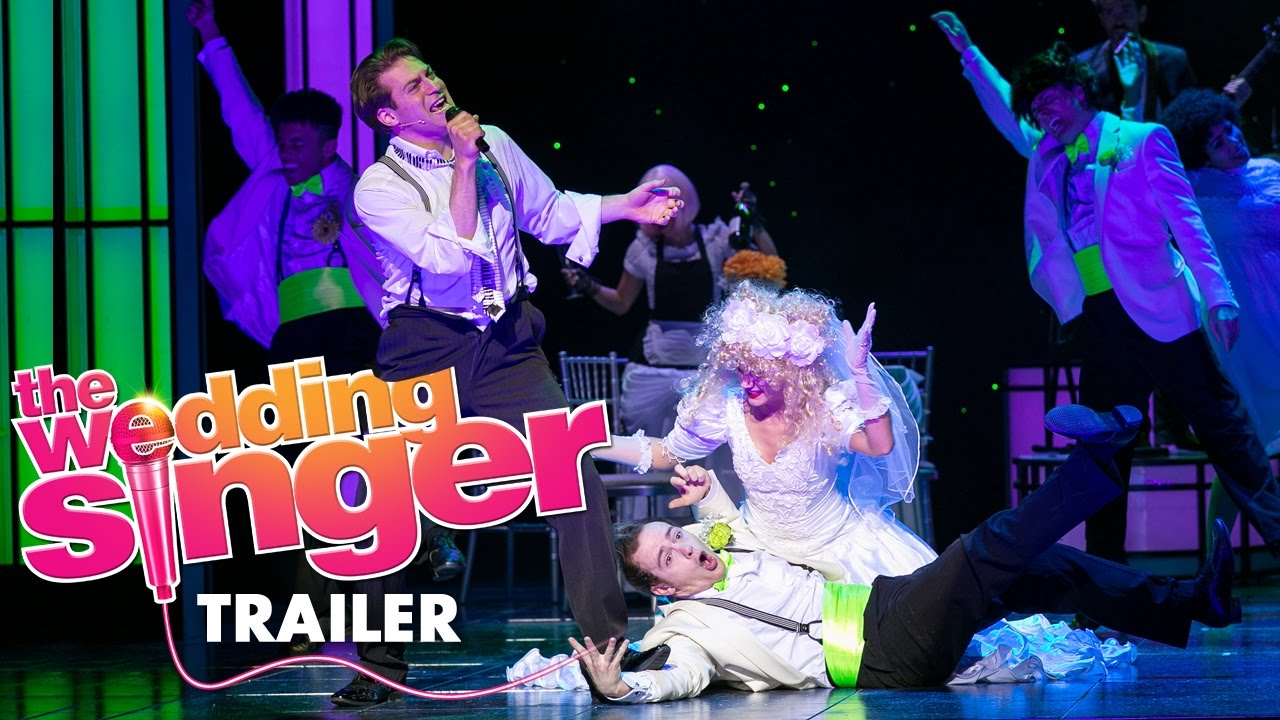 The Wedding Singer Musical Trailer - YouTube