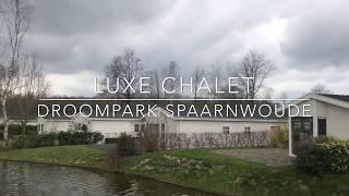 Luxe chalet op waterkavel Droompark Spaarnwoude in Halfweg