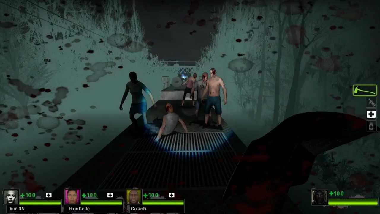Cursed Train (Left 4 Dead 2) - GameMaps