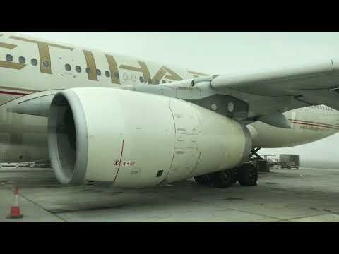 Etihad Airways Airbus A330-300 from Abu Dhabi to Frankfurt Airport