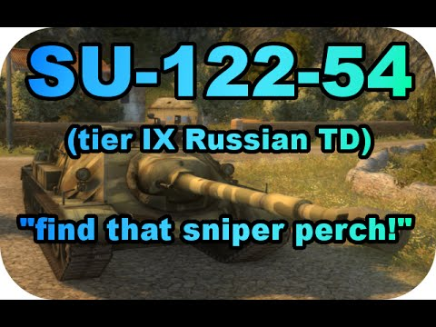 SU-122-54/Snipers perch! RTC ep#12 (Tier IX TD/World of Tanks Xbox)