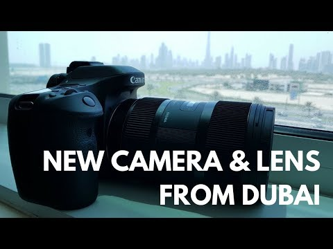 My New Camera & Lens Upgrade from Dubai - Unboxing