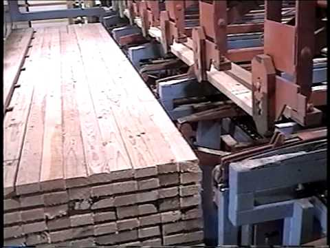 GBI Lumber Stacker - Clearwater Paper Sawmill - Part 2 of 2