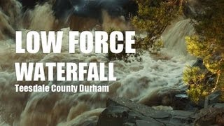 Low Force - Waterfall - Teesdale County Durham - Autumn 2012
