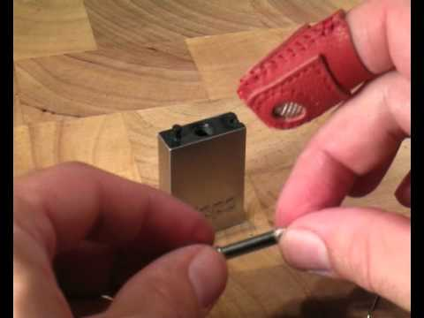 Permanent Match a Simple Refillable Flint Lighter a Survival