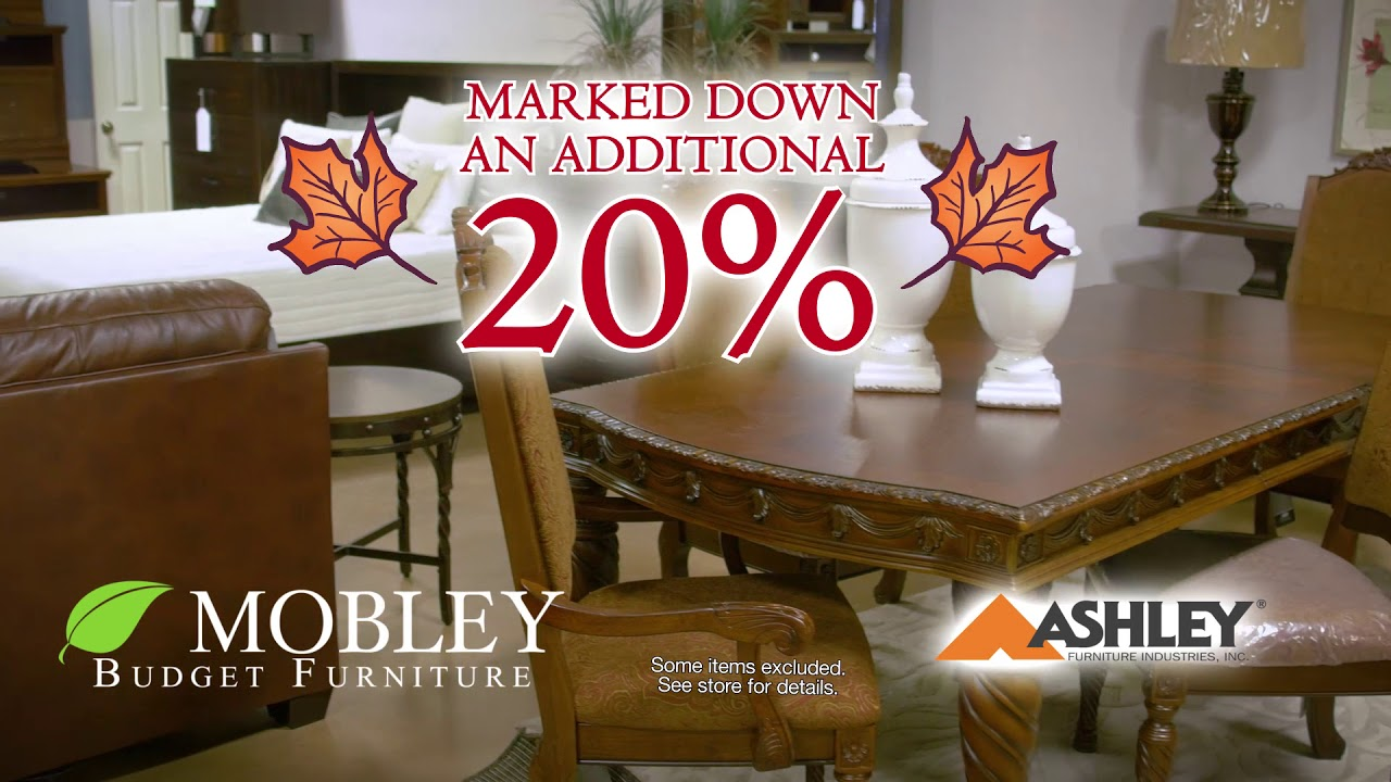 Mobley Furniture Outlet: Fall Sales Event