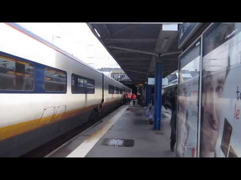 SNCF TGV Nord 7223 Train Paris to Calais Ville
