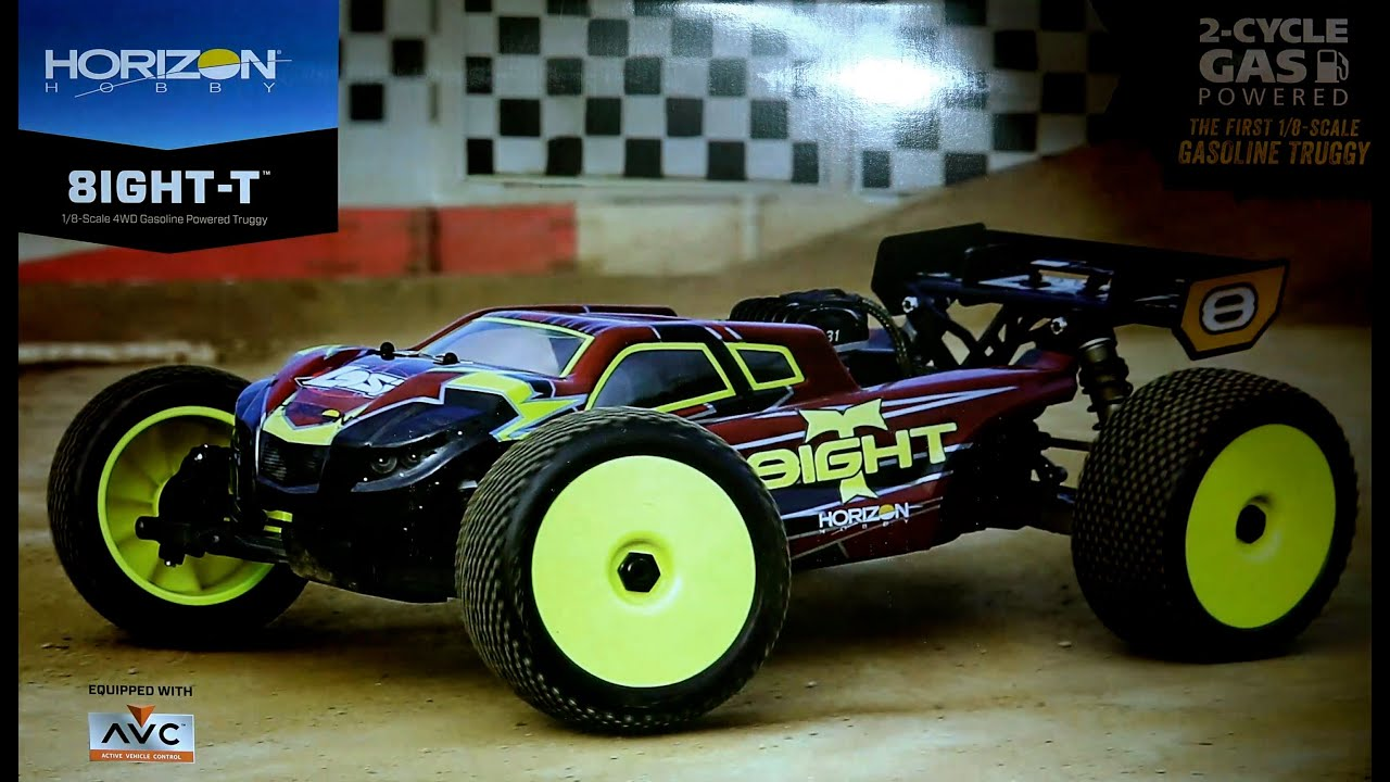 1 8 8IGHT T 4WD Gas Truggy RTR with AVC™ Technology First Look