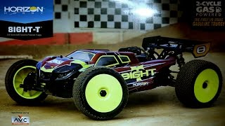 1 8 8ight t 4wd gas truggy rtr with avc technology first look