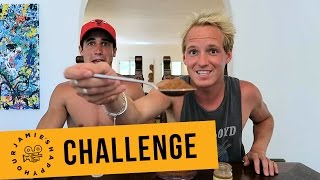 Real Men Cry? Cinnamon Challenge with Josh Patterson | Jamie Laing