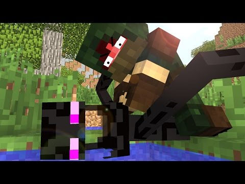 Enderman Life - Craftronix Minecraft Animation