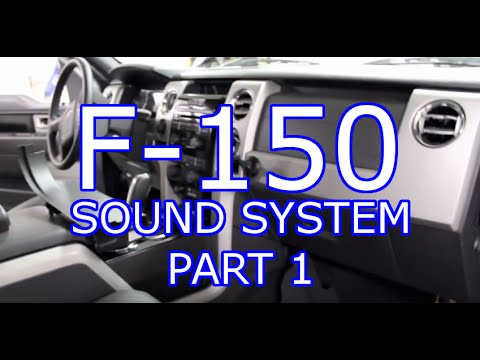 2016 F150 Sony Wiring Diagram 1964 Ford Ignition Switch 2011 Sound System Install Part One Youtube