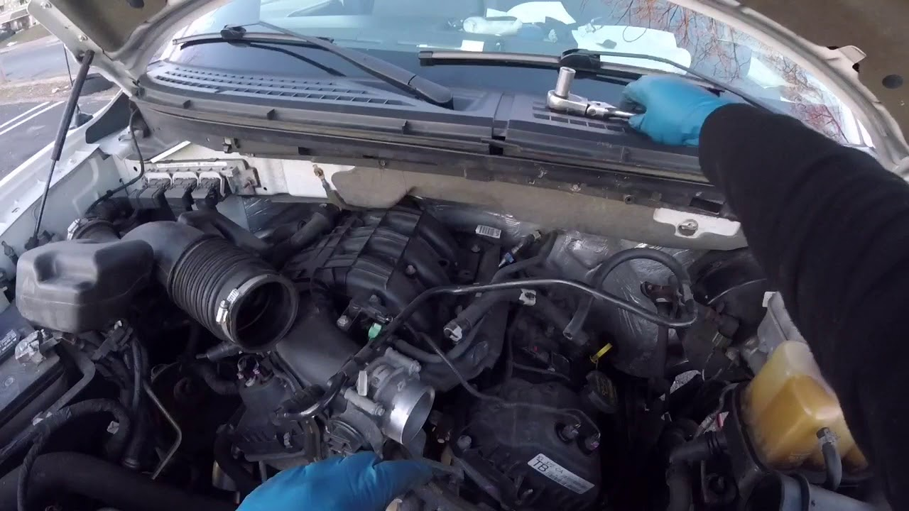 2013 Ford F 150 Ford Mustang 3 7l Serpentine Belt Change Philadelphia Youtube