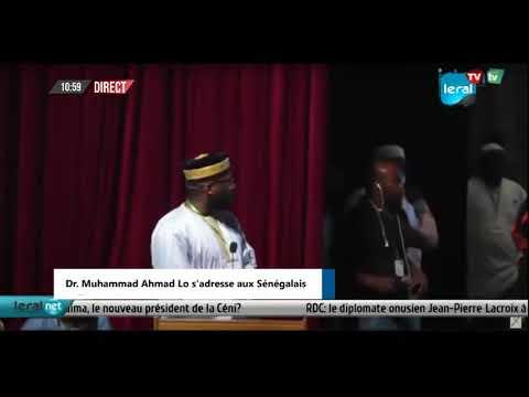 Download EN DIRECT GRAND THEATRE : Dr. Muhammad Ahmad Lo s'adresse aux Sénégalais