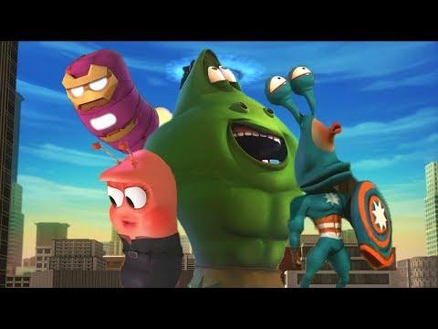 LARVA - SUPERHEROES | Cartoon Movie | Cartoons For Children | Larva Cartoon | LARVA Official