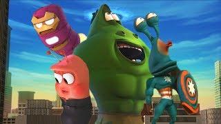 Çocuklar | Larva Çizgi film | LARVA Resmi İçin LARVA - süper kahraman | Çizgi Film | Çizgi film