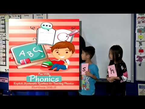 Inside the Classroom Fun with Phonics at High Point and Curlew Creek Elementary School-Promo