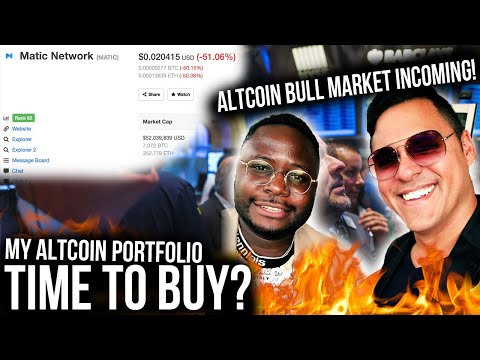 ALTCOIN BULL MARKET INCOMING! BEST ALTCOINS TO HOLD!