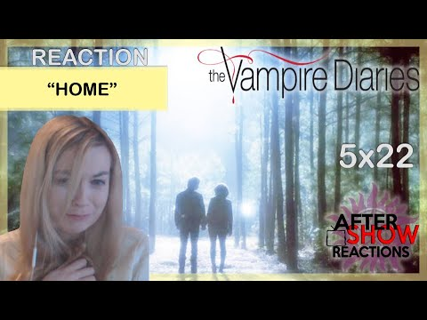 """The Vampire Diaries 5x22 - """"Home"""" Reaction Part 1 (Finale)"""