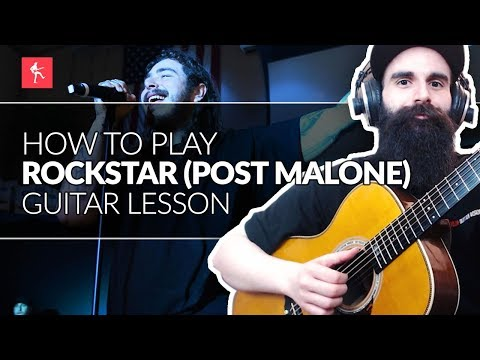 Rockstar Post Malone Guitar Lesson || How To Play Rockstar by Post Malone