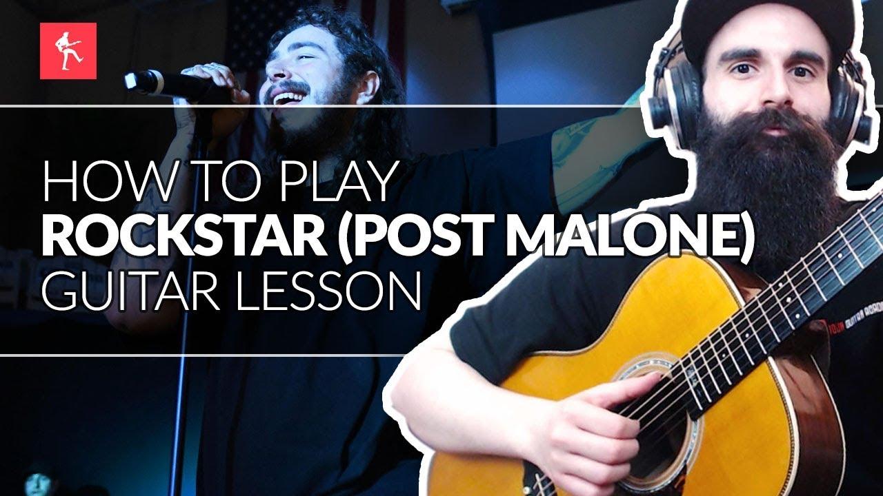 Rockstar Post Malone Guitar Lesson