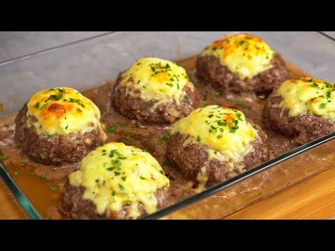 Stuffed Meat Cakes. Recipe by Always Yummy!