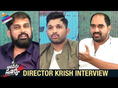 Director Krish Interviews Allu Arjun and...