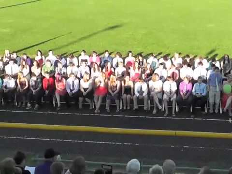 Ticonderoga Middle School Graduation  6-20-13