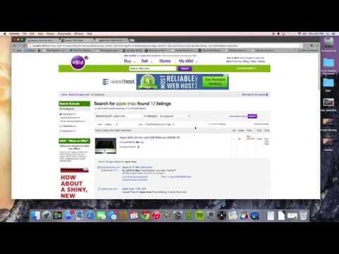 eBid site review