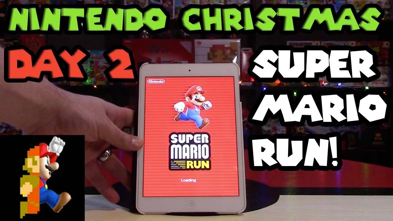 Nintendo Christmas: Day 2 - Super Mario Run, Released Today! - YouTube