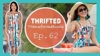DIY Cut-Out Swimsuit | Thrifted Transformations Ep. 62