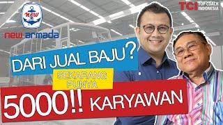 Gambar cover HEBAT! DARI JUAL BAJU, SEKARANG PUNYA 5000 KARYAWAN | ft.David Herman Jaya. Founder New Armada Group