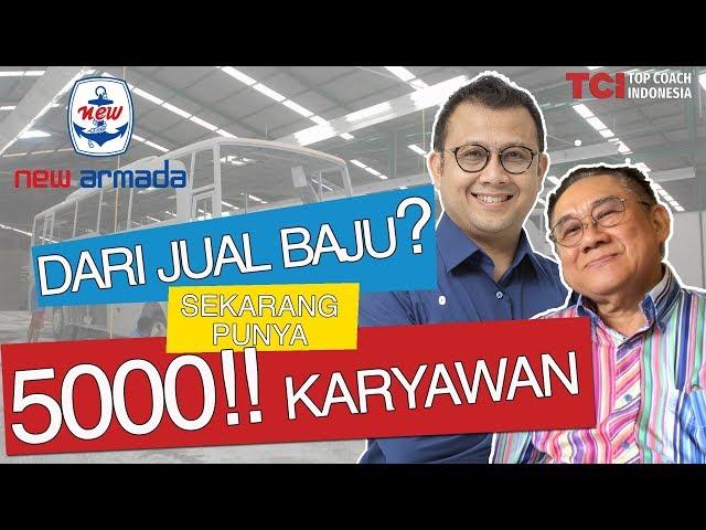 HEBAT! DARI JUAL BAJU, SEKARANG PUNYA 5000 KARYAWAN   ft.David Herman Jaya. Founder New Armada Group