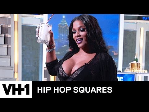 Kelis Makes Milkshakes For Everyone In The Studio | Hip Hop Squares