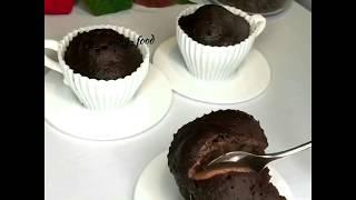 Кексики для завтрака с шоколадно ореховой начинкой Диета Дюкан