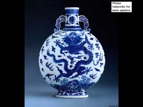 Vintage Ancient Chinese Porcelain Pottery | Picture Ideas Of Rare Decorative & Beautiful Art