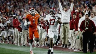 "2017 National Championship Hype Video Clemson VS Alabama | ""Rematch"" 