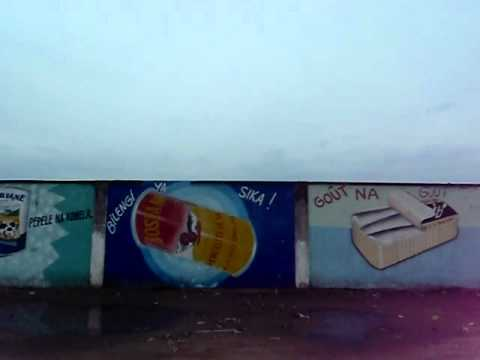 The ad wall, Kinshasa, Congo RDC, Africa-Carlo Grossi