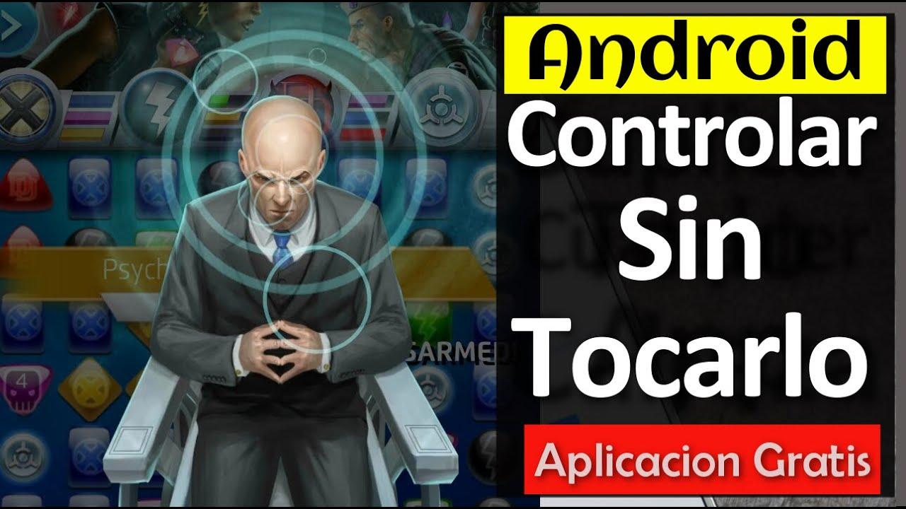 aplicacion para controlar telefono sin tocarlo