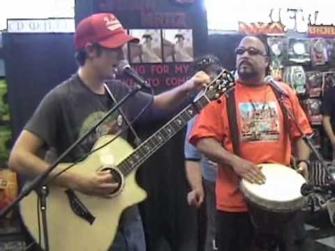 Jason Mraz & Toca Rivera - Oct 15, 2002 - Tower Records - San Diego, CA - FULL SHOW