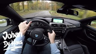 2016 BMW M4 Coupé Competition Package 450hp POV test drive GoPro
