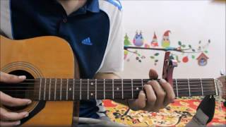 Main Rahoon Ya Na Rahoon - Complete guitar cover lesson chords Easy version