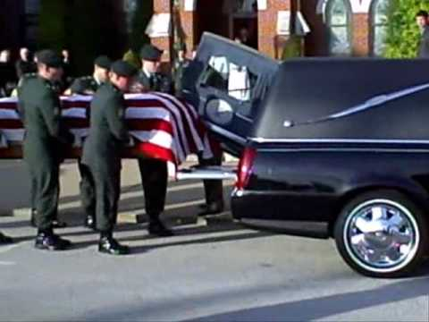 ROBIN MOORE FUNERAL: MILITARY HONORS