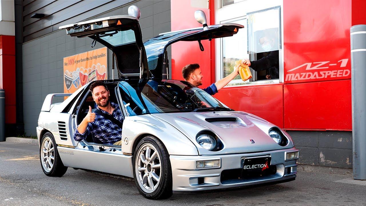 Autozam AZ-1 Mazdaspeed Review // Size Doesn't Matter, OKAY?