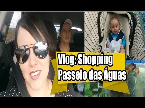 Vlog: Goiânia, Shopping Passeio das Águas, Exposição de Dragões, Davi...
