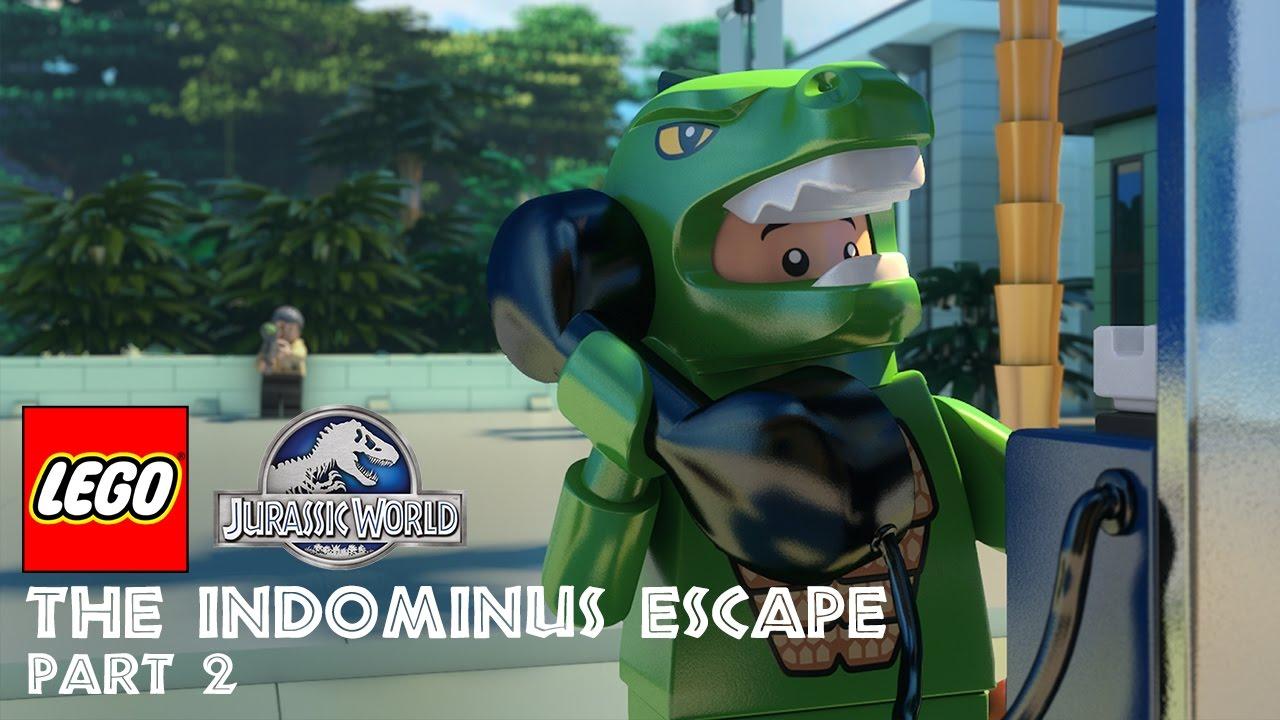 Part 2: LEGO® Jurassic World: The Indominus Escape