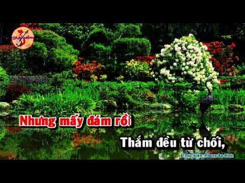 KARAOKE TD LA TRAU XANH NGAN CHAU SONG CA