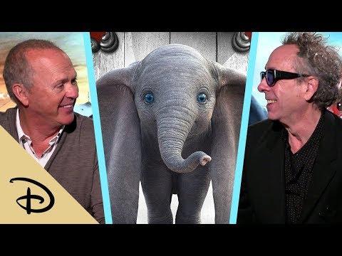 Tim Burton and Michael Keaton Talk About Making Disney's Dumbo | Disney