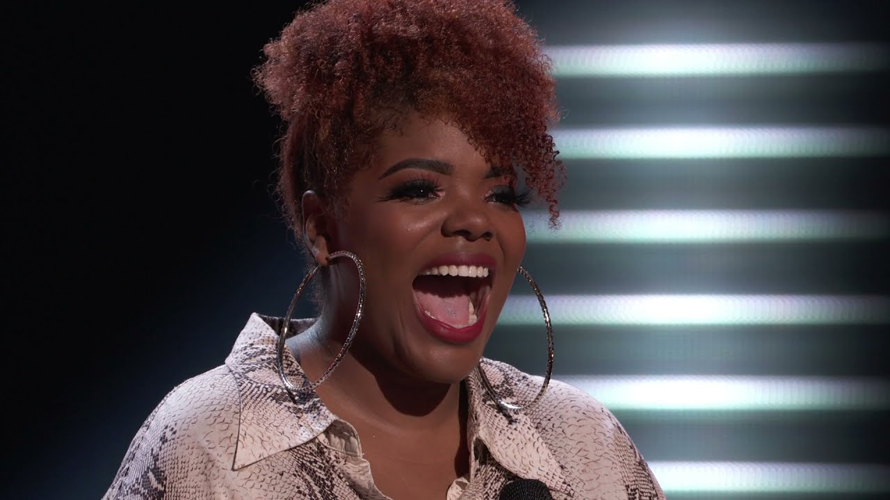 Download The Voice | Gymani picks Kelly As Her Coach despite singing Ariana's pov